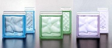 Цветные стеклоблоки